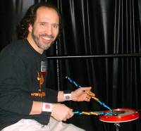 Click here for private online drum lessons with Tiger Bill - Your choice of 30 or 60 minute lessons!