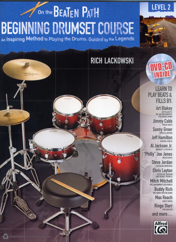 Rich Lackowski On The Beaten Path Beginning Drumset Course