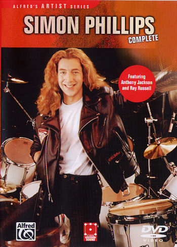 Simon Phillips Complete DVD from Alfred Publishing Click for lowest price on the Web