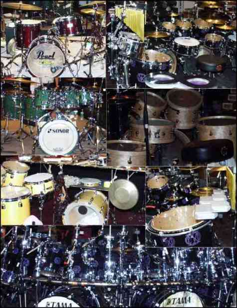 Drums and Percussion Gear at the Modern Drummer Festival 2003