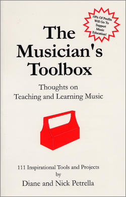 Click to buy The Musician's Toolbox by Diane and Nick Petrella