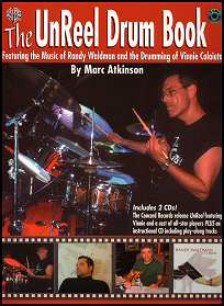 Click to purchase The Unreel Drum Book festuring the drumming of Vinnie Colaiuta